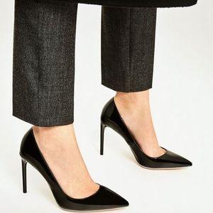 Zara Patent High Heels - NWT